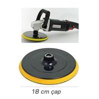 ModaCar 18 cm Çap Cırtlı Pasta Cila Sünger Taban Aplikatörü 102596