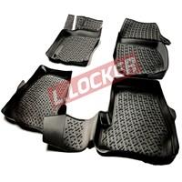 L.Locker Audi A6 2011-2015 3D Havuzlu Paspas
