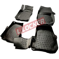 L.Locker Bmw 1 Serisi F20 2011 Sonrası 3D Havuzlu Paspas