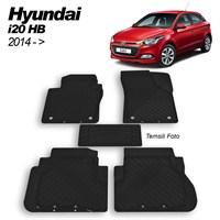 İmage Hyundai İ20 Hb 2014 Paspas Siyah