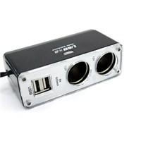 ModaCar 500 Ma 2 USB 2 Çakmak Çıkış Çoklayıcı 102668