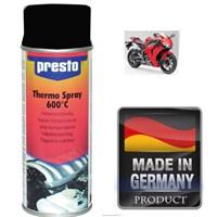 Presto Motorsiklet Blok Egsoz Boyası SİYAH 600 C Isıya Dayanıklı 102737