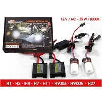 Space Canbus Xenon Kit H9005-8000K 12V-AC 35W