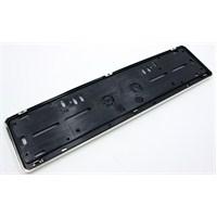 ModaCar Lazer Desenli Plaka Altlığı Metal Nikelaj 998808