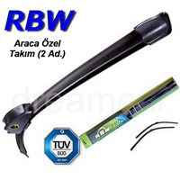 Rbw Bmw 1 Serisi Cadrio (E88) 2008-2011 Kasa İçin Muz Silecek Takım 50cm+50cm 190801