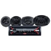 Sony SFB-6916 Cdli Oto Teyp ve Hoparlörlü Mega Bass Performans Seti