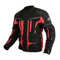 Prosev 7152 Touring Motosiklet Montu (Kırmızı-Siyah)