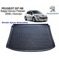 Peugeot 207 Bagaj Havuzu Paspası 2006 Sonrası