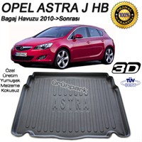 Opel Astra J Bagaj Havuzu Astra J Bagaj Paspası