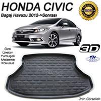 Yeni Honda Civic Sedan Bagaj Havuzu 2012 Sonrası