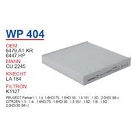 Wunder CITROEN XSARA - C5 - BERLİNGO II Polen Filtresi OEM NO:6447.HP