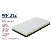Wunder RENAULT TRAFFiC (PLASTİK) Yağ Filtresi OEM NO: 7701050319