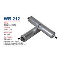 Wunder BMW E46 3.16ti - 3.18ti - 3.25 ti M52-M54 Yağ Filtresi OEM NO:13327512019