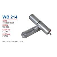 Wunder BMW X5 E70 3.0 d 06- X6 E71 3.0 d 08- M47-M57 Yağ Filtresi OEM NO:13322243653