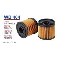 Wunder FIAT SCUDO 2.0 HDI Mazot Filtresi OEM NO: 9401906508