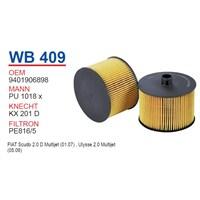 Wunder FIAT SCUDO II 2.0 HDI Mazot Filtresi OEM NO: 9401906898