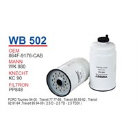 Wunder FORD TRANSiT M 12 Mazot Filtresi OEM NO: F89E-9155-AA