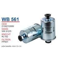 Wunder LADA SAMARA - NiVA 1,5 i-1,6 i Benzin Filtresi OEM NO: 2108210999