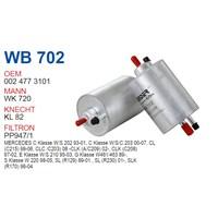 Wunder MERCEDES 129-170-202-203-210-220 KASA 112-113 MOTOR Benzin Filtresi OEM NO:24773101