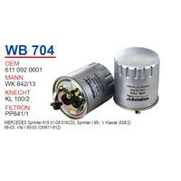 Wunder MERCEDES SPRiNTER 413 CDI-ViTO I CDI 611-612 MOTOR Mazot Filtresi OEM NO:6110920601