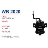 Wunder TOYOTA VVTi Y.M Benzin Filtresi OEM NO:23300-22030