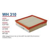 Wunder OPEL OMEGA B 2.5 TD 94- ,2.0i Hava Filtresi OEM NO: 835607