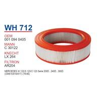 Wunder MERCEDES 123 KASA 200 D - 240 D - 300 D Hava Filtresi OEM NO:10940405