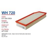 Wunder MERCEDES 210 KASA E200 - E220 CDI - 220 KASA S320 CDI - ML 270 CDI Hava Filtresi OEM NO:61109