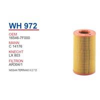 Wunder NISSAN TERRANO II 2.7 D Hava Filtresi OEM NO:16546-7F000