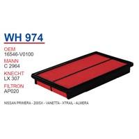 Wunder NISSAN PRiMERA - 200SX - VANETTA - XTRAİL - ALMERA Hava Filtresi OEM NO:16546-V0100