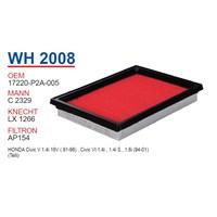 Wunder HONDA CiViC 1.4 95-01 -V HATCBACK Hava Filtresi OEM NO:17220-P2A-005