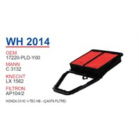 Wunder HONDA CiViC V-TEC HB - (ÇANTA FiLTRE) Hava Filtresi OEM NO:17220-PLD-Y00