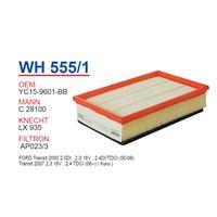 Wunder FORD TRANSiT V 347 (SÜNGERLi) Hava Filtresi OEM NO: YC15-9601-BB
