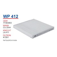 Wunder FIAT DUCATO III Y.M 06- Polen Filtresi OEM NO: 77364063