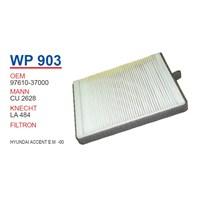 Wunder HYUNDAI ACCENT E.M -00 Polen Filtresi OEMNO:97610-37000