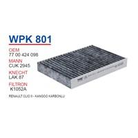 Wunder RENAULT CLiO II - KANGOO KARBONLU Polen Filtresi OEM NO: 7700424098