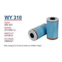 Wunder OPEL OMEGA B 2.5 TD Yağ Filtresi OEM NO: 650303