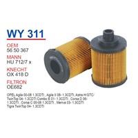 Wunder OPEL COMBO 1.3 CDTI Y.M Yağ Filtresi OEM NO: 5650367
