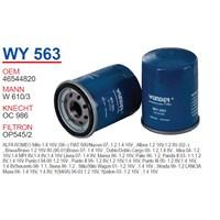 Wunder FIAT ALBEA 1.2 - 1.4 Yağ Filtresi OEM NO: 46544820
