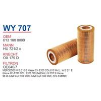 Wunder MERCEDES 220 KASA S320 CDI - 210 KASA E320 CDI Yağ Filtresi OEM NO:6131800009