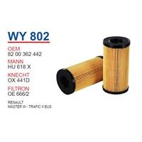 Wunder REN. MASTER III-TRAFİC II BUS Yağ Filtresi OEM NO: 8200362442