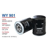 Wunder HYUNDAI H100 BY-PASS LI Yağ Filtresi OEMNO:26300-42010