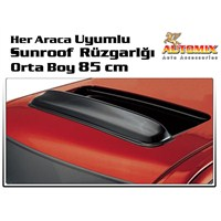 Automix Her Araca Uyumlu Sunroof Tavan Rüzgarlığı Orta Boy 85 cm