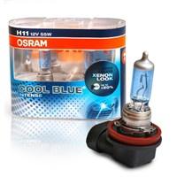 Osram H11 Cool Blue İntense 2'li Ampul Seti * BEYAZ IŞIK ETKİSİ