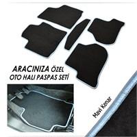 Bylizard Citroen C4 2004-2010 Halı Paspas Seti Mavi Kenar-4071444