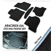 Bylizard Citroen C4 Picasso 2006-2011 Halı Paspas Seti Mavi Kenar-4071446