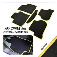 Bylizard Opel Corsa C Halı Paspas Seti Sarı Kenar-0081493