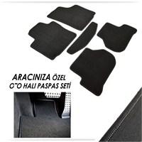 Bylizard Peugeot 206 Halı Paspas Seti Siyah-0031499