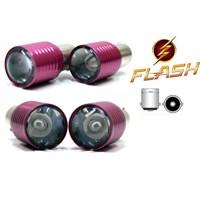 ModaCar Prolight 1156 Tip Flaşlı KIRMIZI Mercek SAMSUNG Ledli STOP/SİNYAL Ampülü 103235