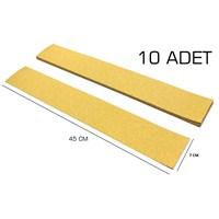 MxS Yapışkanlı Rende Zımpara P 80 7 cm x 45 cm 10 LU Paket 102845